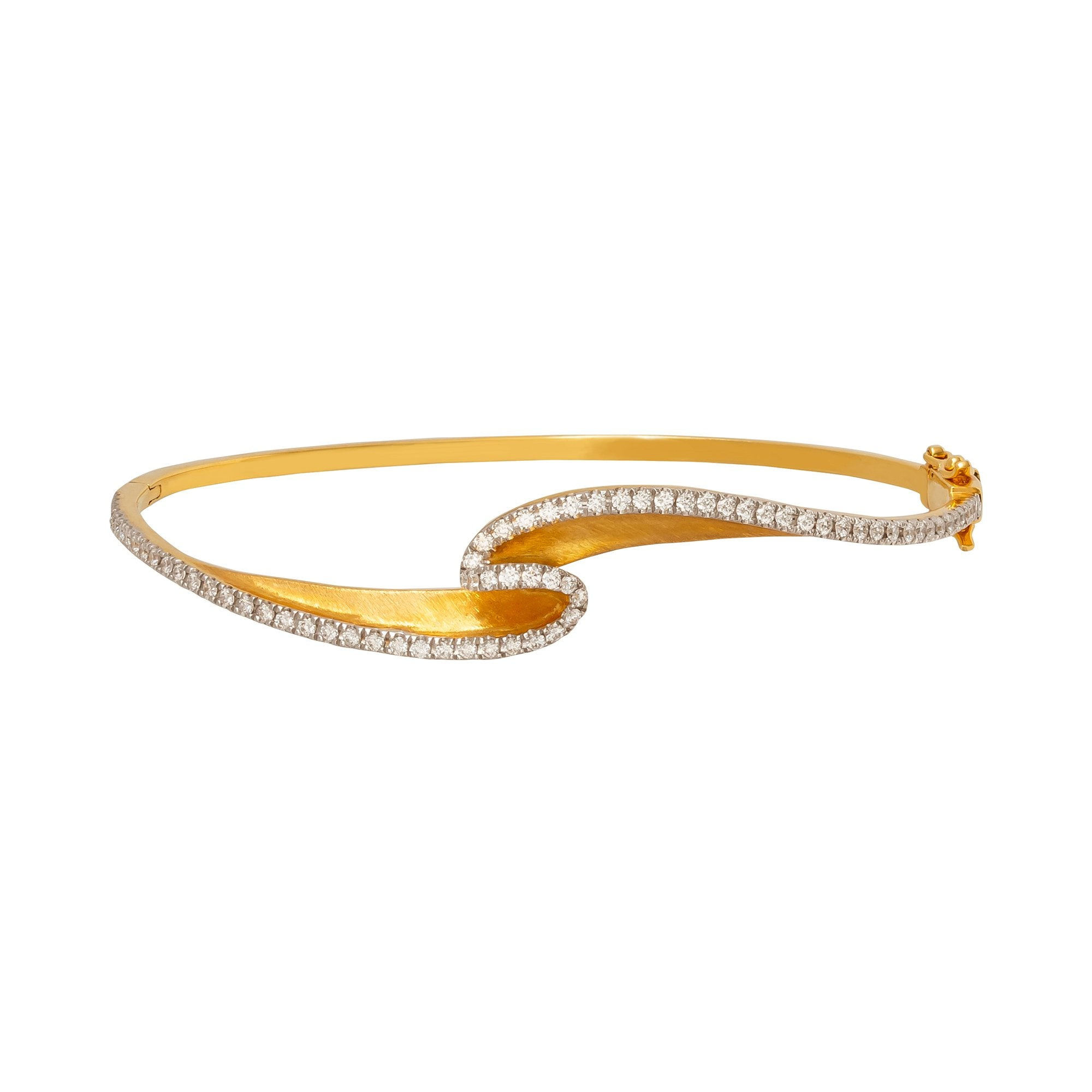 Mini Talay Wave Bangle - Kavant & Sharart  - Bracelets | Broken English Jewelry