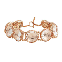 Olivia Button Bracelet by Larkspur & Hawk for Broken English Jewelry