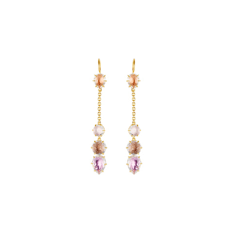 Caterina Chain Earrings by Larkspur & Hawk for Broken English Jewelry