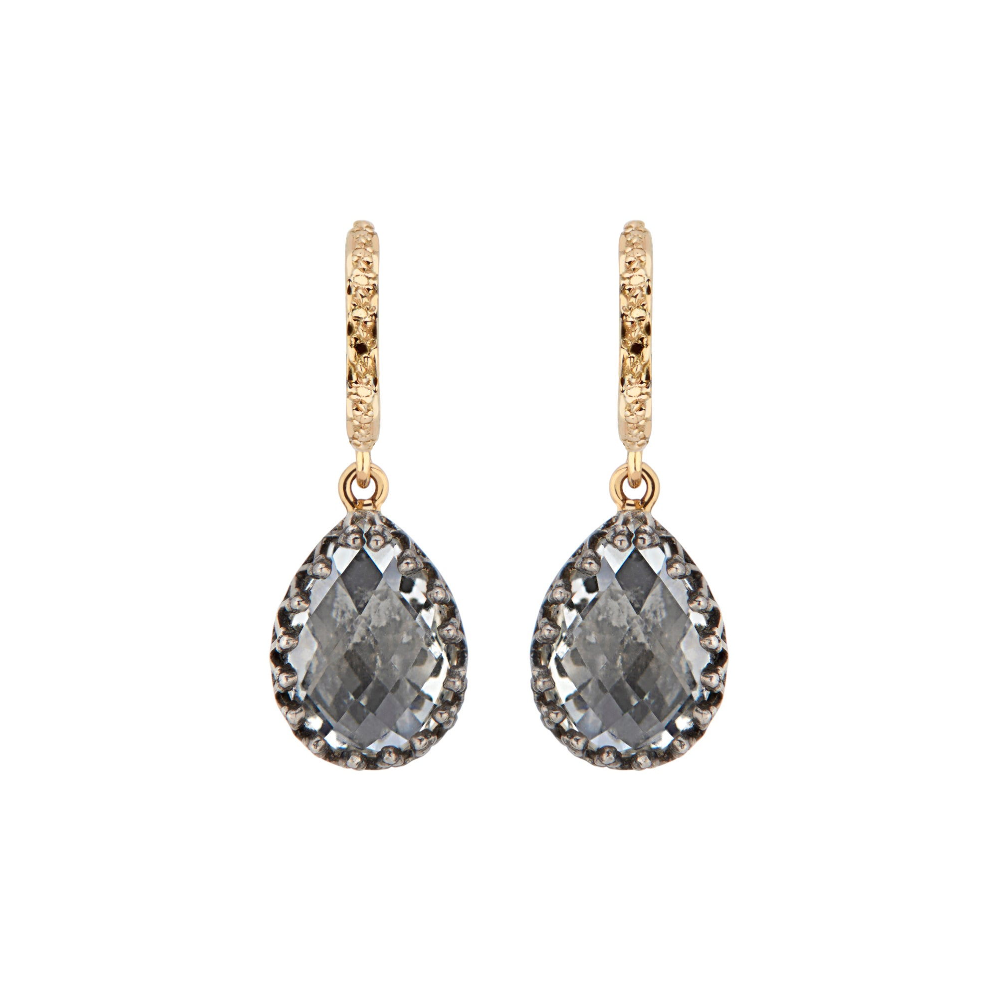 Lady Jane Small Pear Drop Earrings by Larkspur & Hawk for Broken English Jewelry