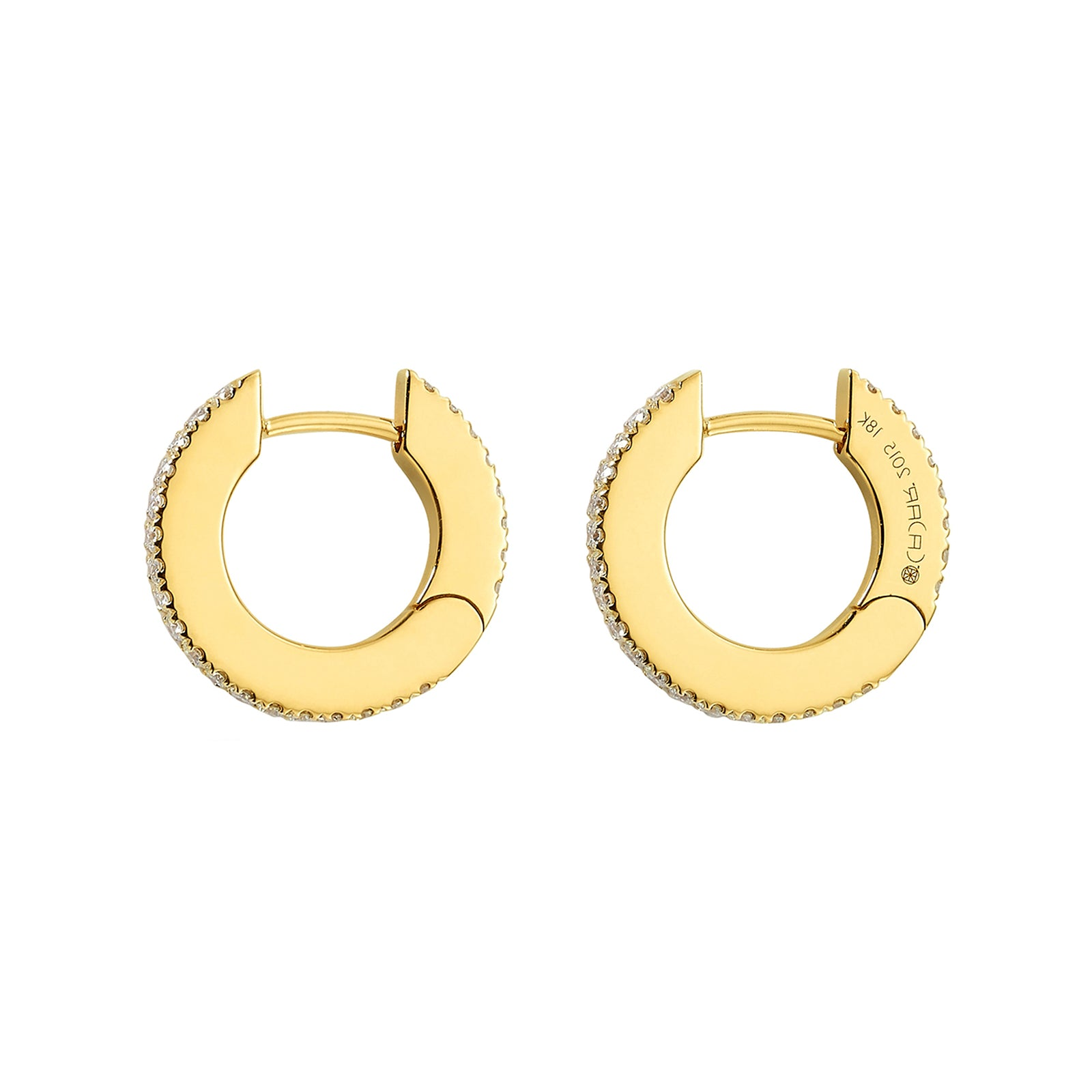 Cadar Small Solo Hoop Earrings - Earrings - Broken English Jewelry