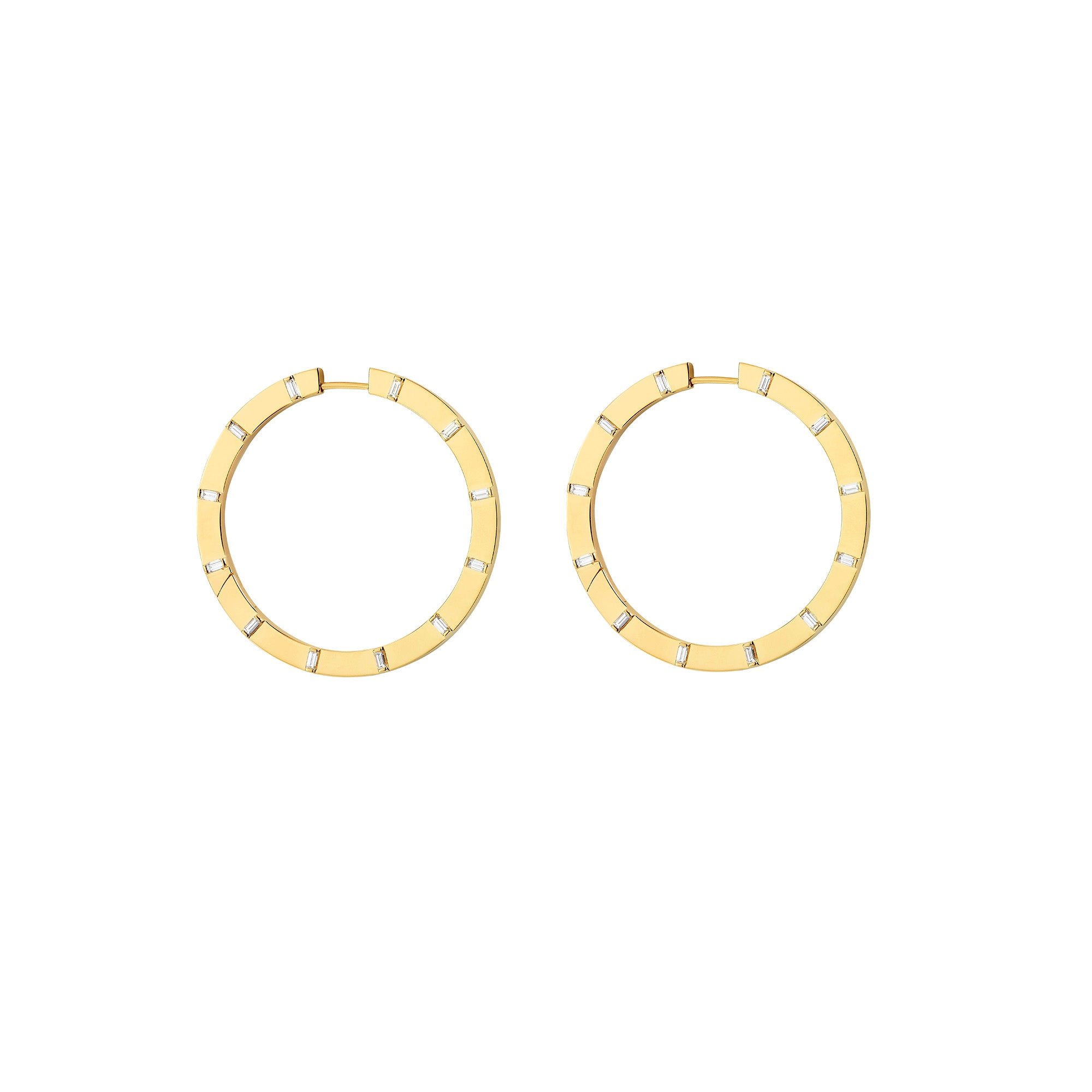 Sole Medium Hoop Earrings - Cadar - Earrings | Broken English Jewelry
