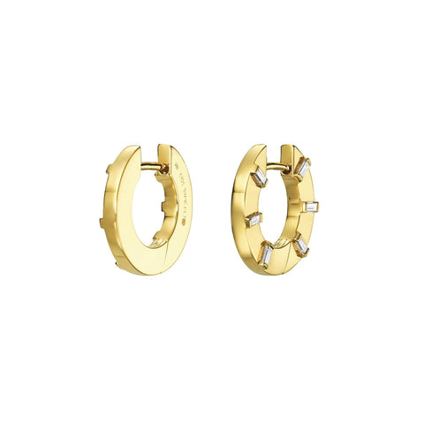 Prime Small Hoop Earrings - Cadar - Earrings | Broken English Jewelry