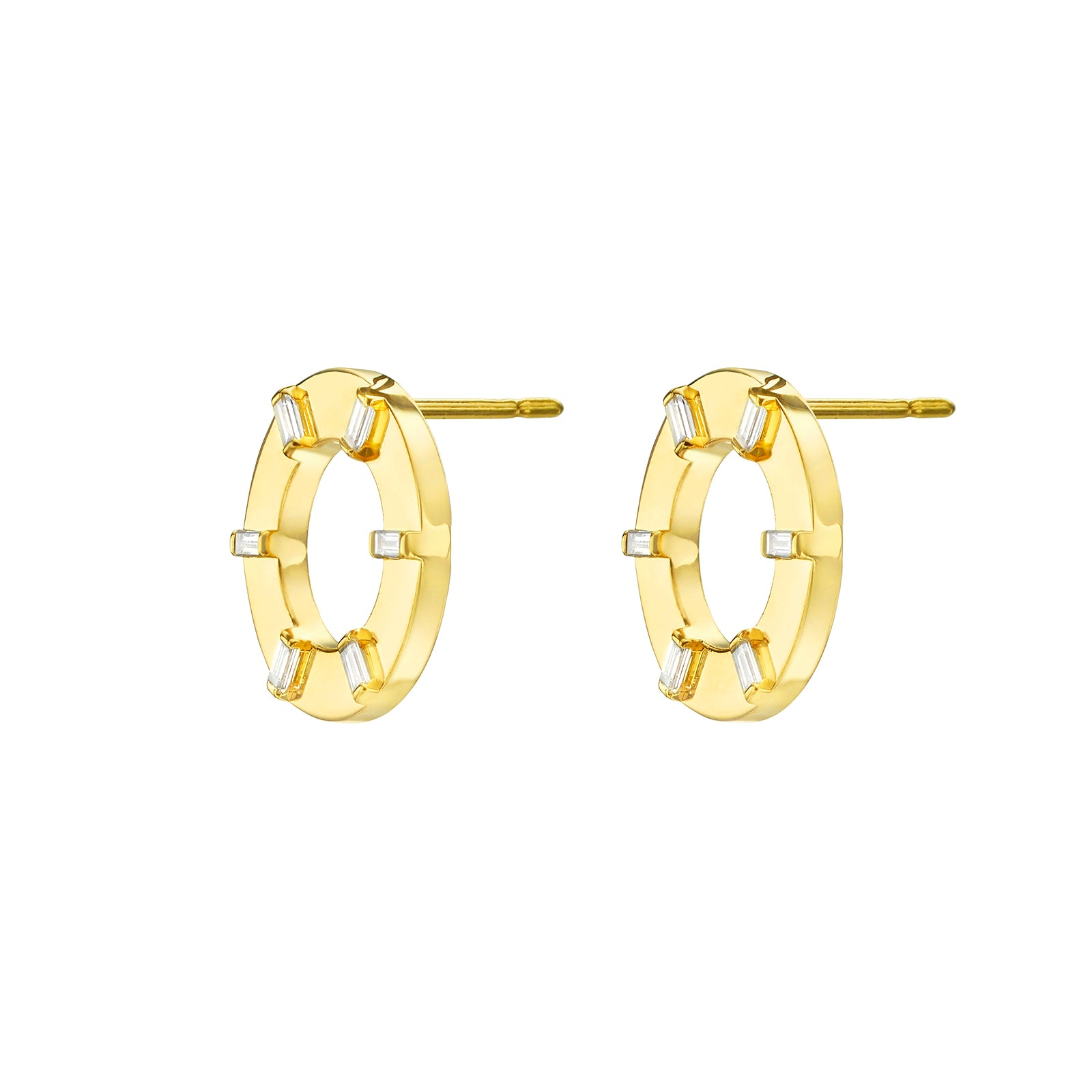 Cadar Prime Unity Stud Earrings - Earrings - Broken English Jewelry