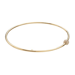Talisman Diamond Gold Bangle