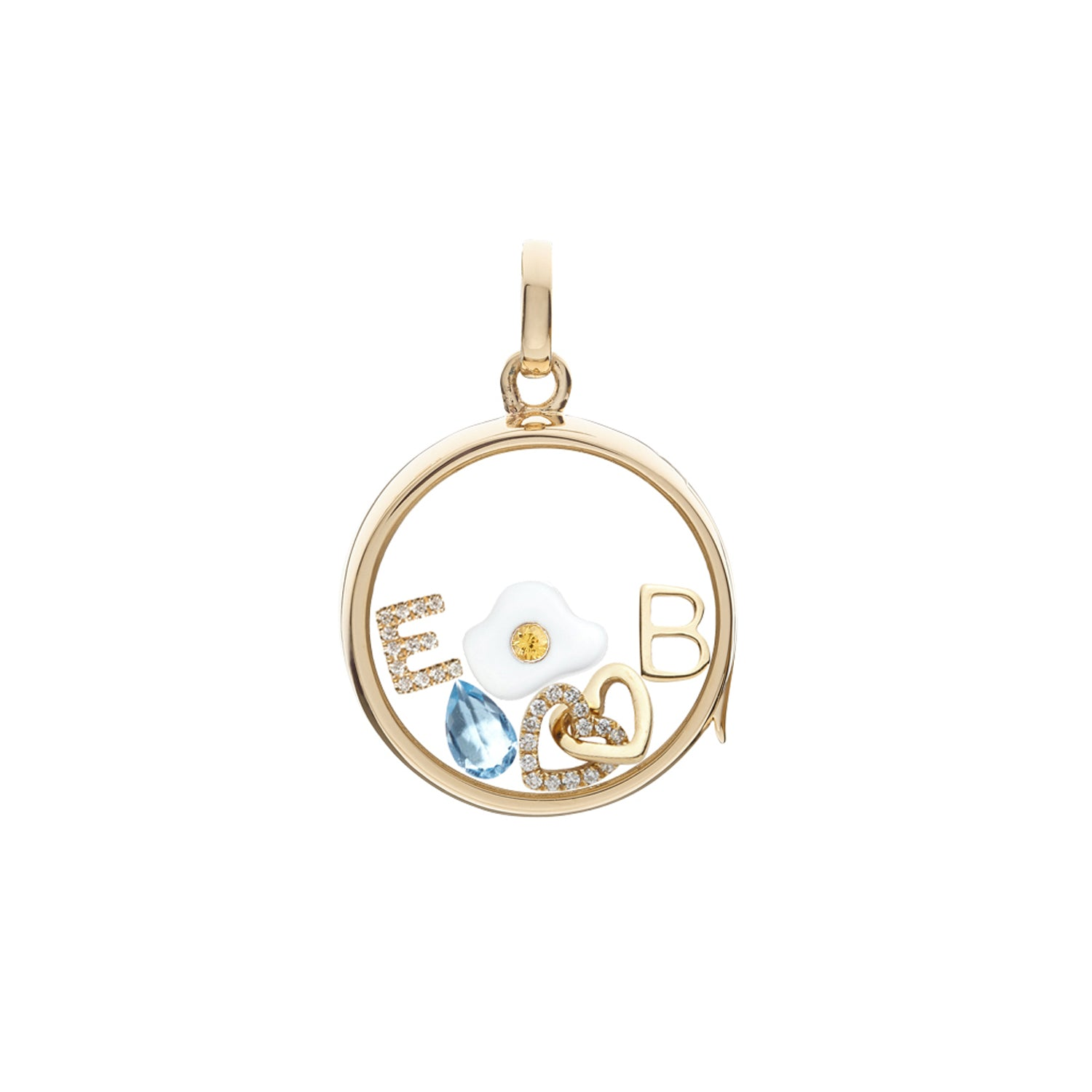 Fried Egg Charm