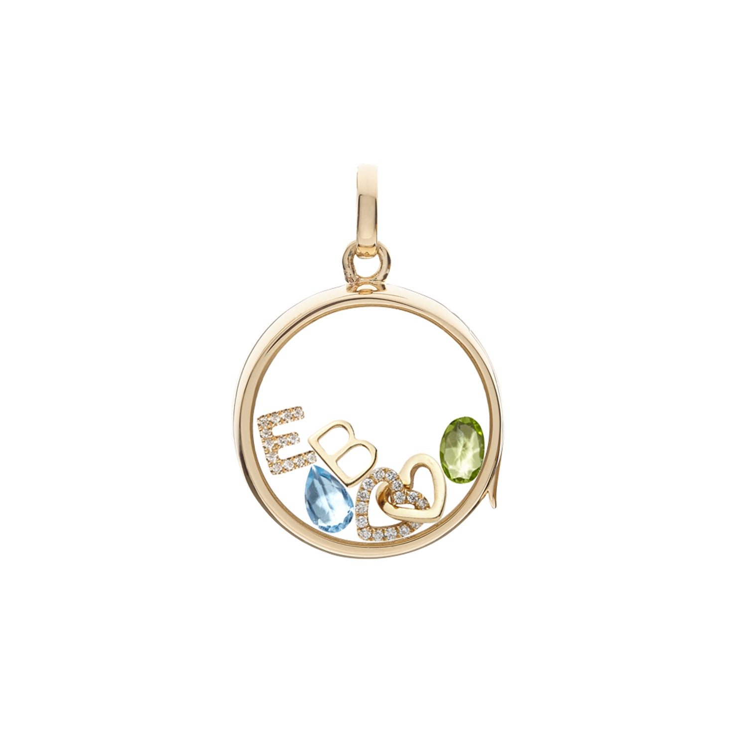 Peridot August Birthstone Charm