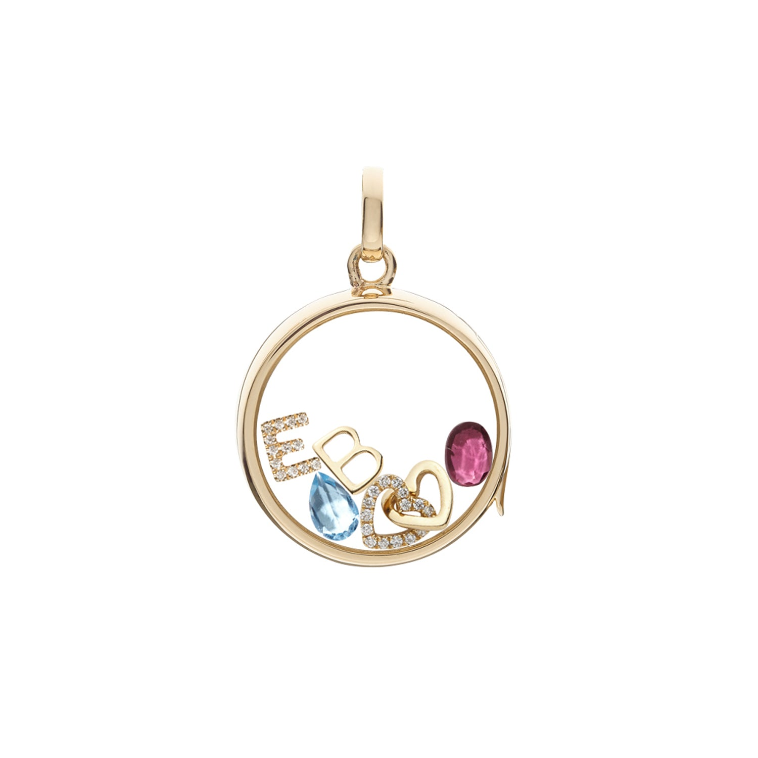 Tourmaline October Birthstone Charm