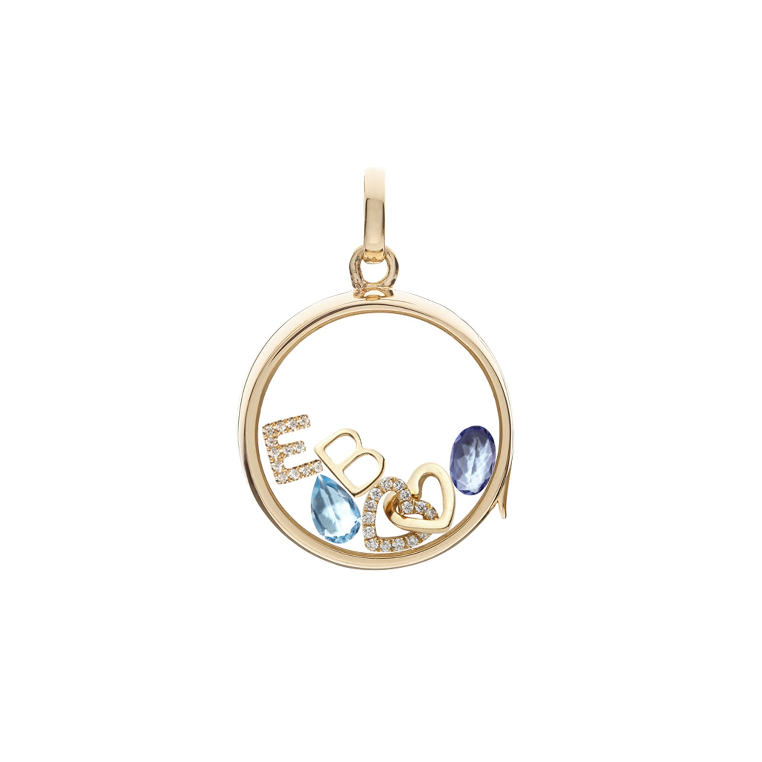 Tanzanite December Birthstone Charm
