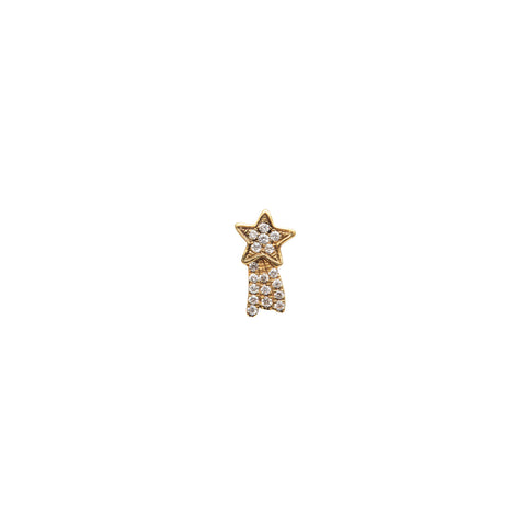 Diamond Shooting Star Charm