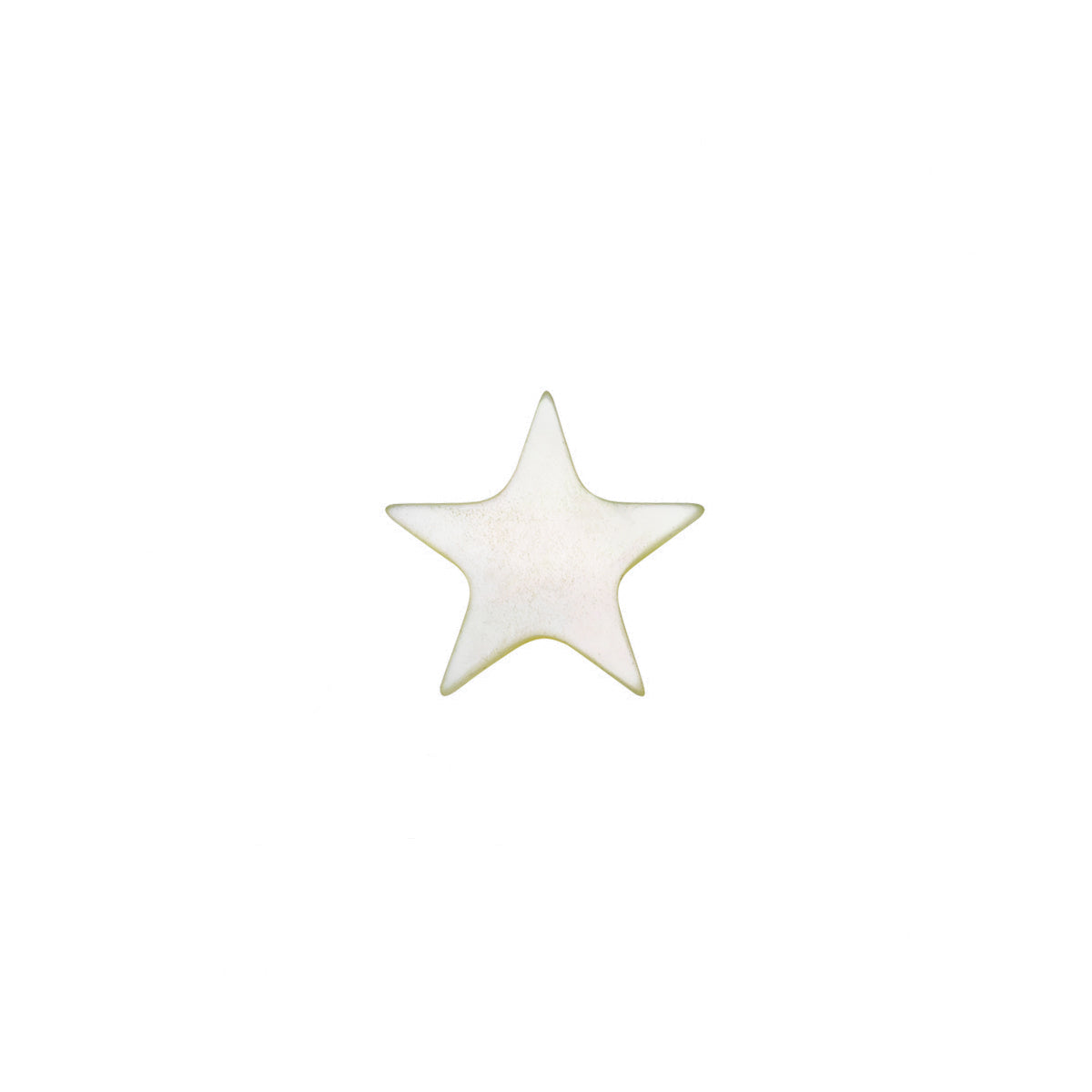 Mother of Pearl Star Charm - Loquet - Pendants & Charms | Broken English Jewelry