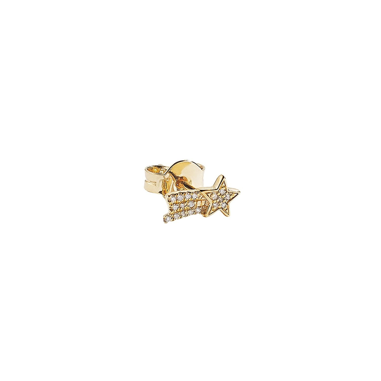 Diamond Shooting Star Stud