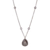Loriann Stevenson Grey Diamond Slice Necklace - Necklaces - Broken English Jewelry