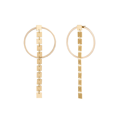 Round Ones & Elevens - Lilian von Trapp - Earrings | Broken English Jewelry