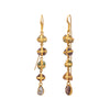 Lou Zeldis Five Drop Raw Sapphire Earrings - Earrings - Broken English Jewelry