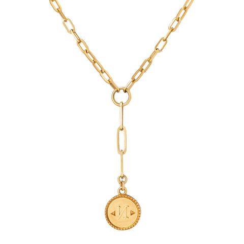 True North Medallion - Foundrae - Charms & Pendants | Broken English Jewelry