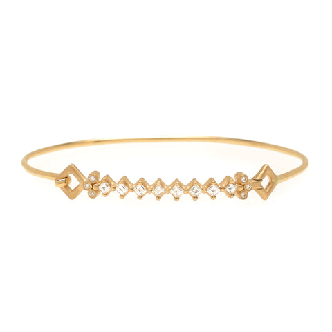 Nomad Diamond Bracelet by Michelle Fantaci for Broken English Jewelry