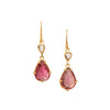 Tourmaline Earrings by Margery Hirschey for Broken English Jewelry