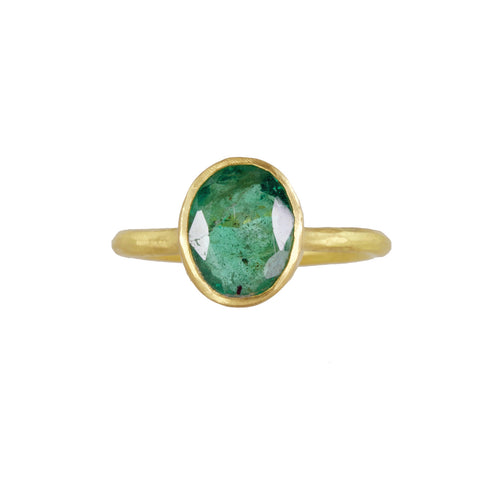 Zambian Emerald Ring - Margery Hirschey - Rings | Broken English Jewelry