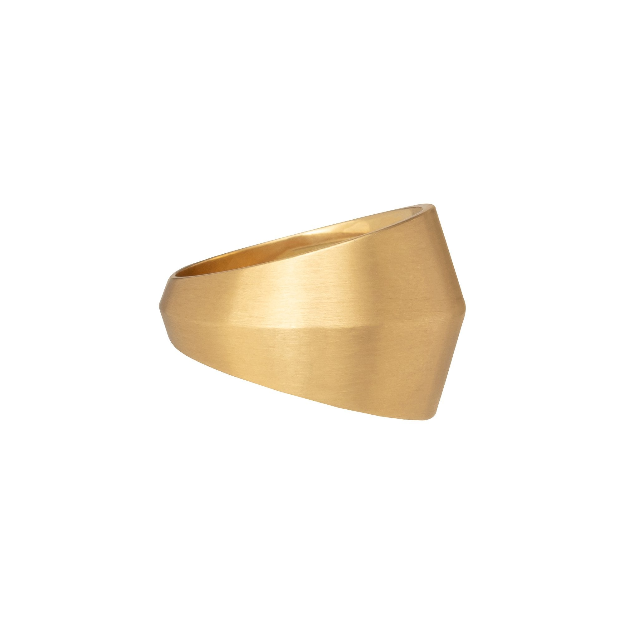 Gold Band Ring - Marisa Klass - Rings | Broken English Jewelry