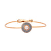 Selim Mouzannar Mina Bracelet - Pearl and Grey Enamel - Bracelets - Broken English Jewelry