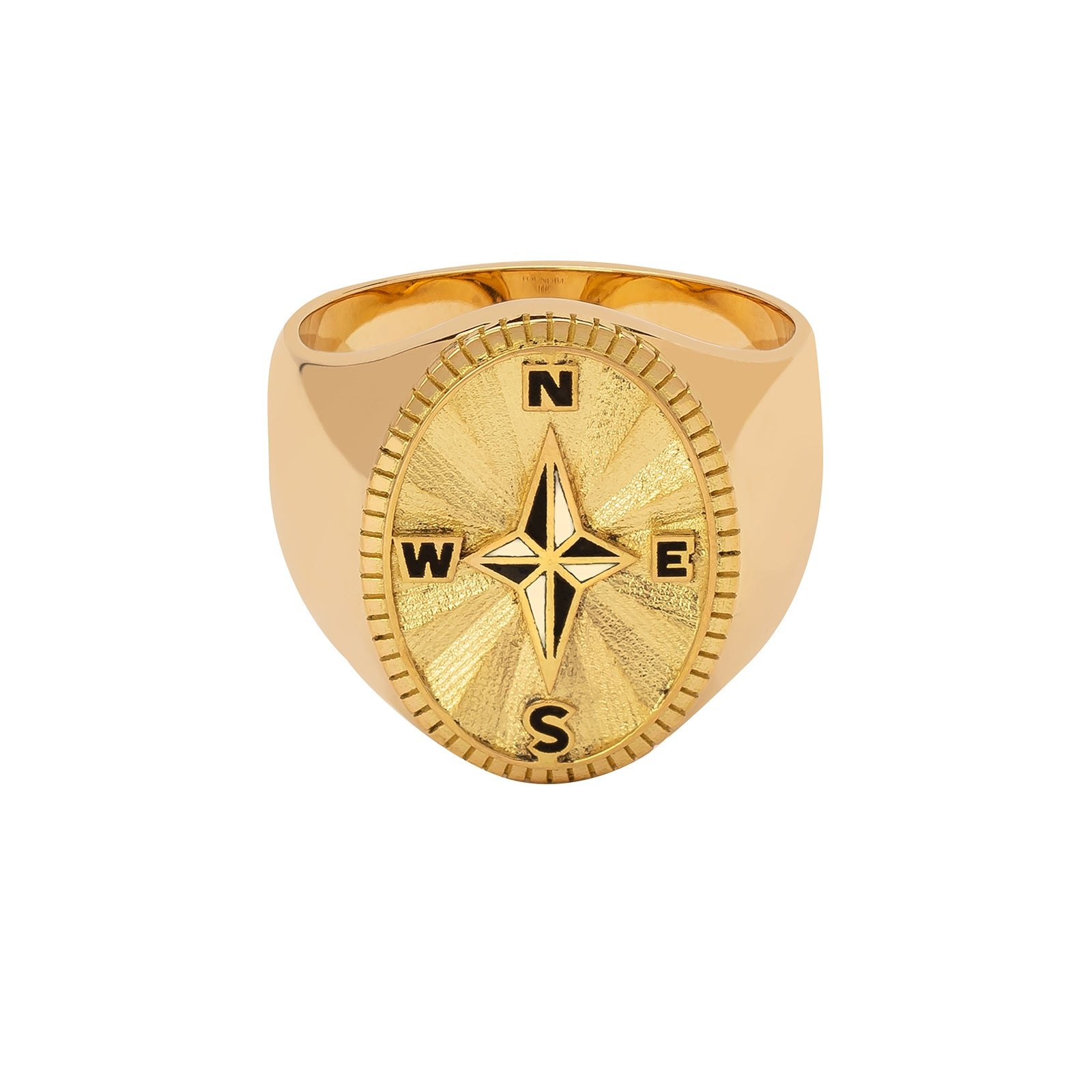Foundrae Big Daddy Signet Ring - Course Correction - Rings - Broken English Jewelry