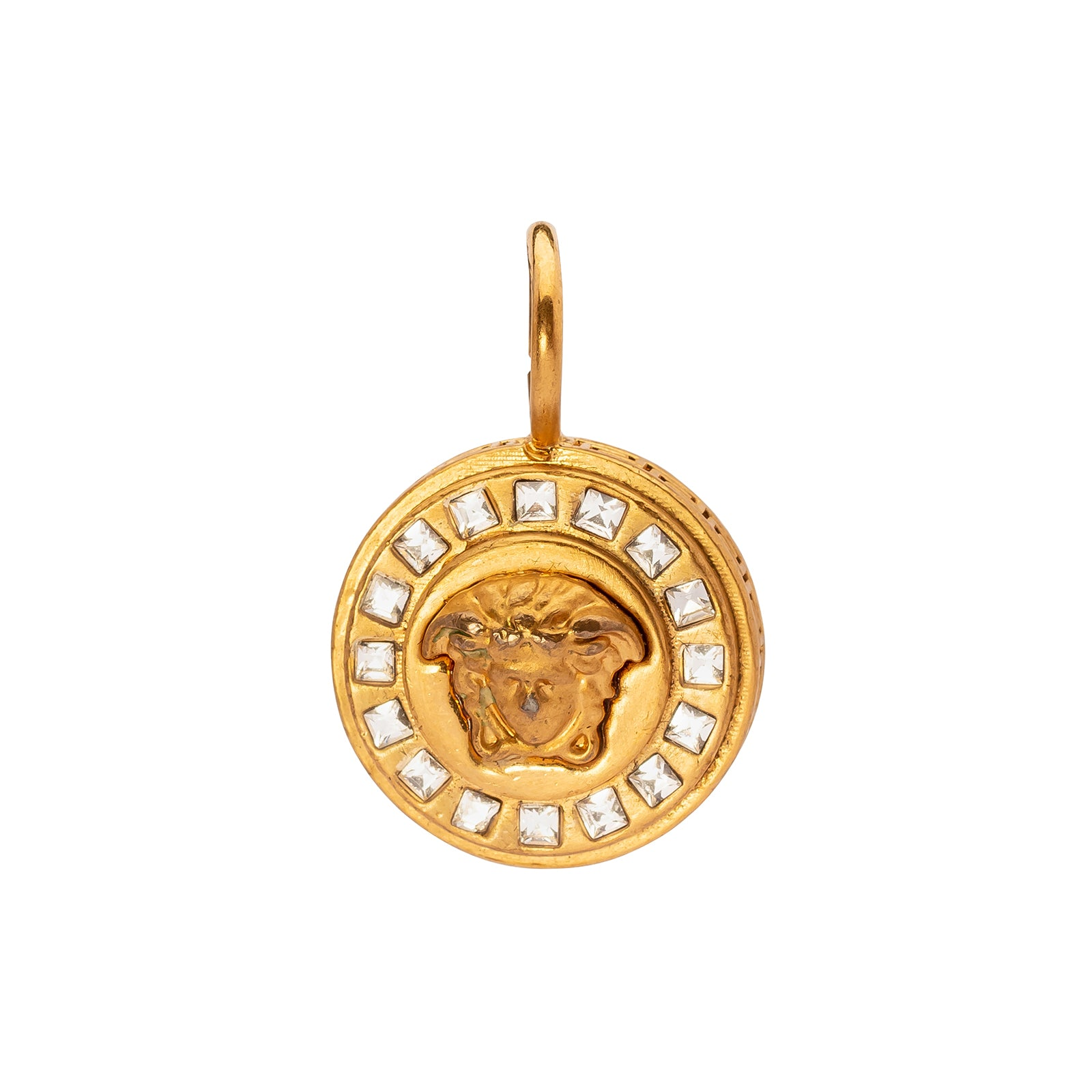 Antique & Vintage Jewelry Versace Medusa Charm - Charms & Pendants - Broken English Jewelry