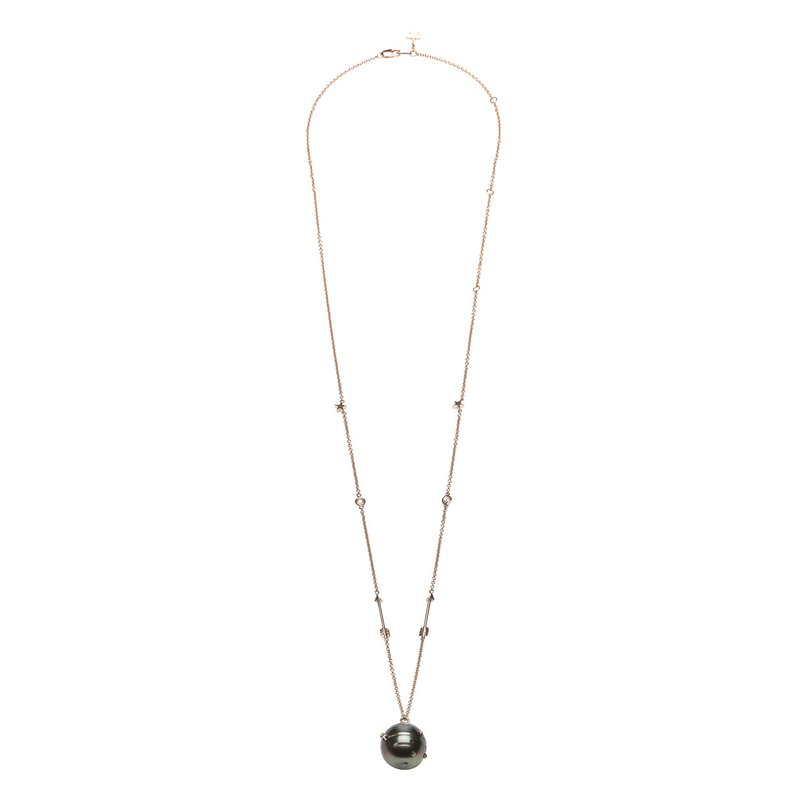 Bibi van der Velden Tahitian Pearl Necklace - Necklaces - Broken English Jewelry