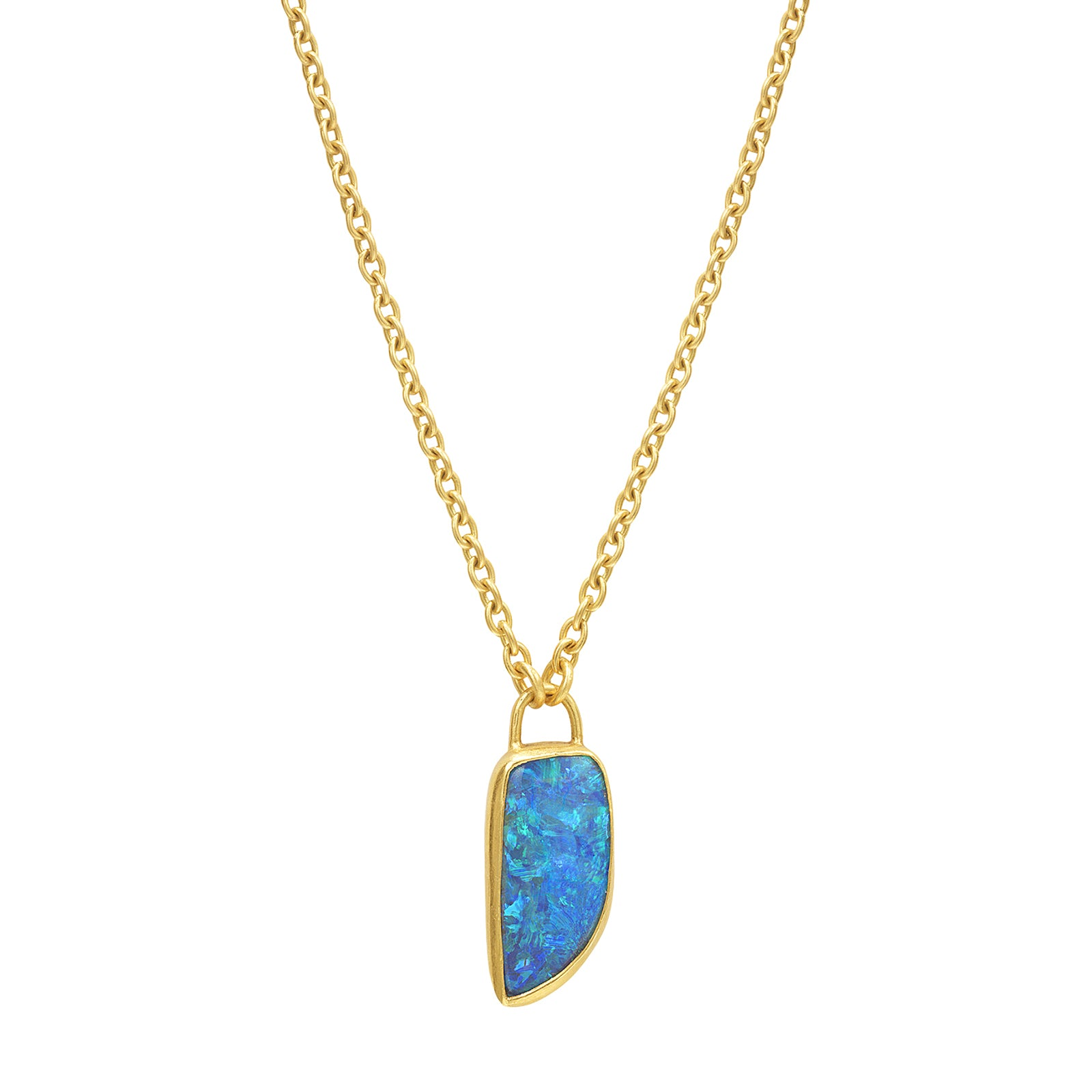 Eli Halili Pendant Necklace - Opal - Necklaces - Broken English Jewelry