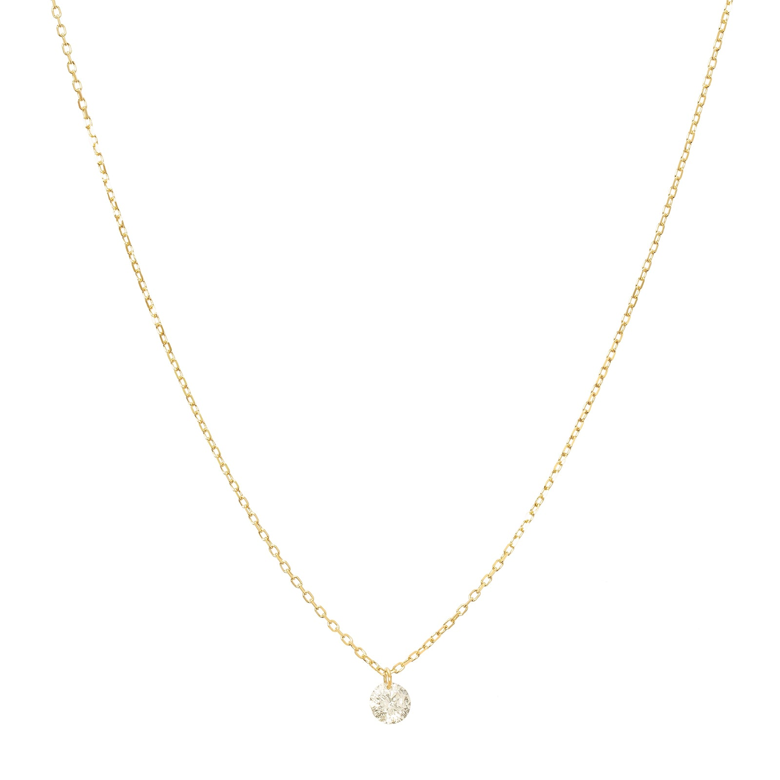 Persée Paris Danaé Diamond Necklace - Yellow Gold - Necklaces - Broken English Jewelry