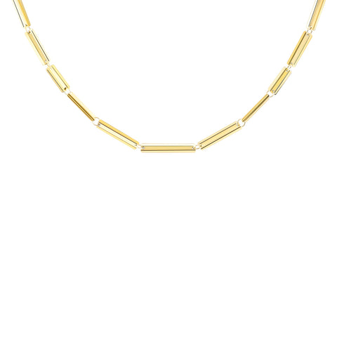 "Rectangle VIA Necklace 16"" - MISUI - Necklaces 