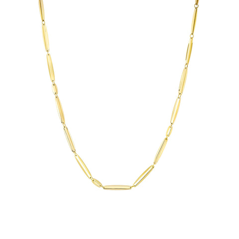 "Oval VIA Necklace 24"" - MISUI - Necklaces 
