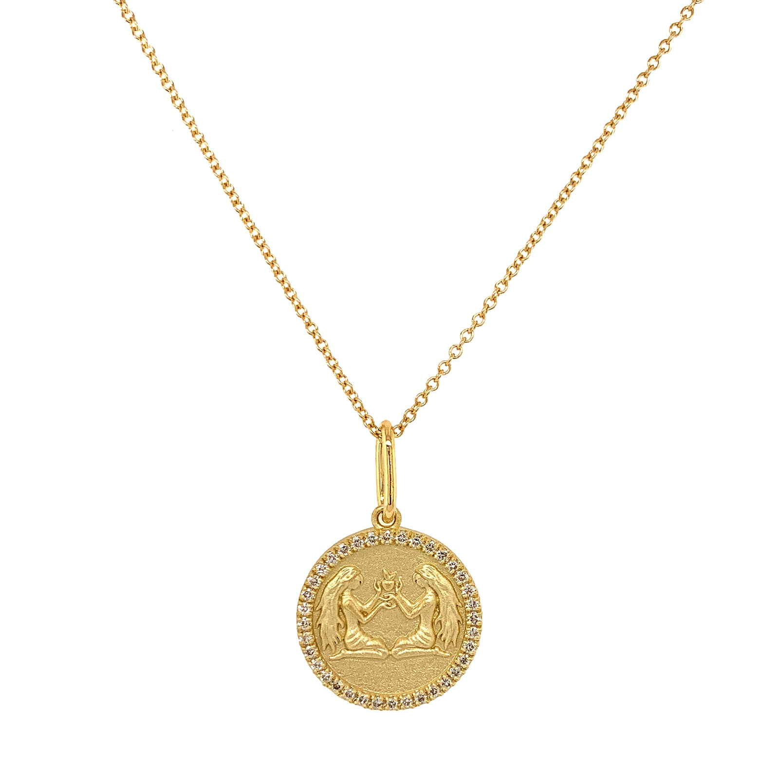 Colette Zodiac Necklace - Gemini - Necklaces - Broken English Jewelry