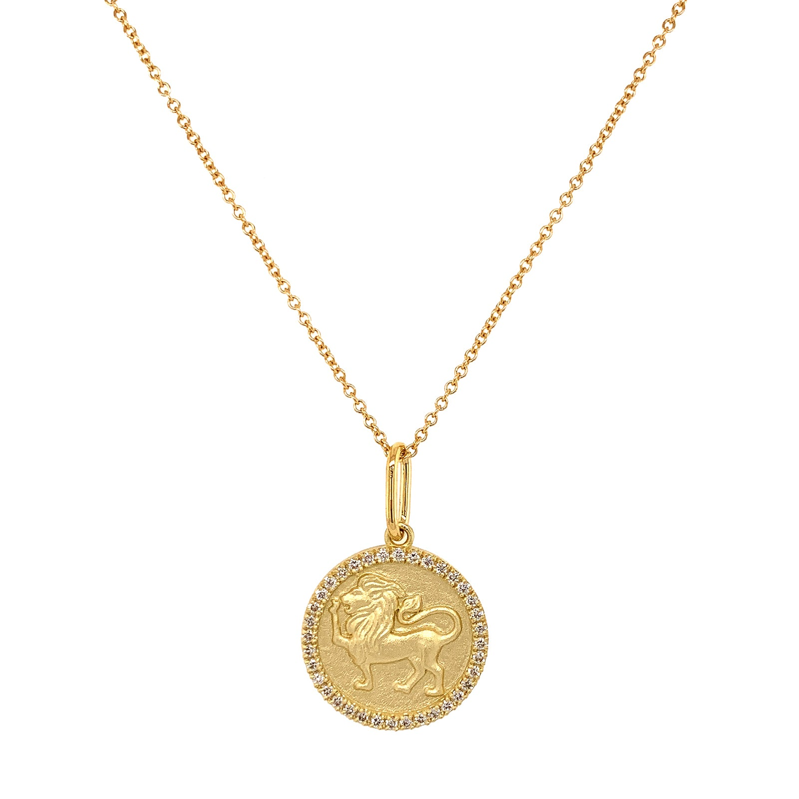 Colette Zodiac Necklace - Leo - Necklaces - Broken English Jewelry