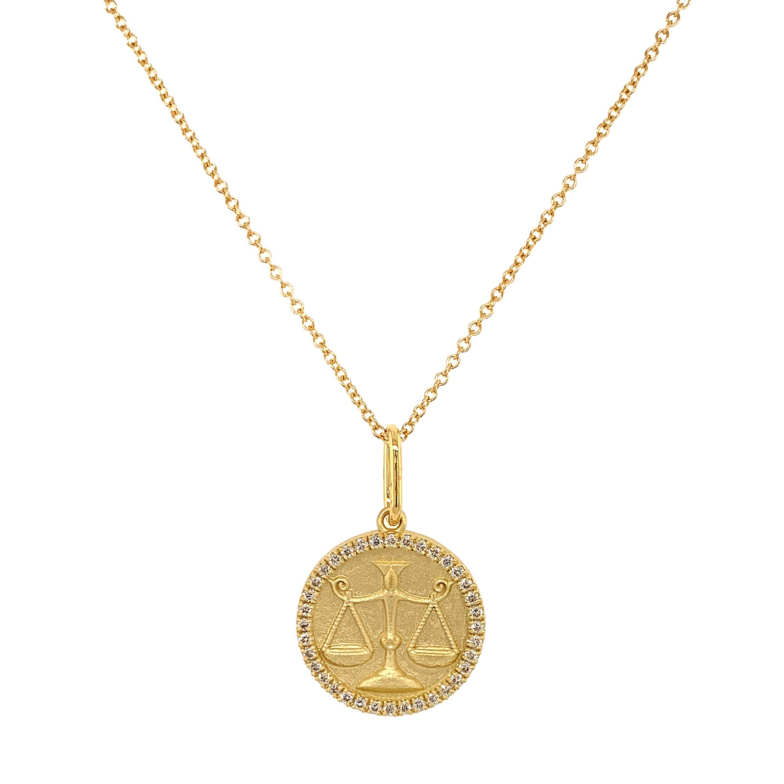 Colette Zodiac Necklace - Libra - Necklaces - Broken English Jewelry