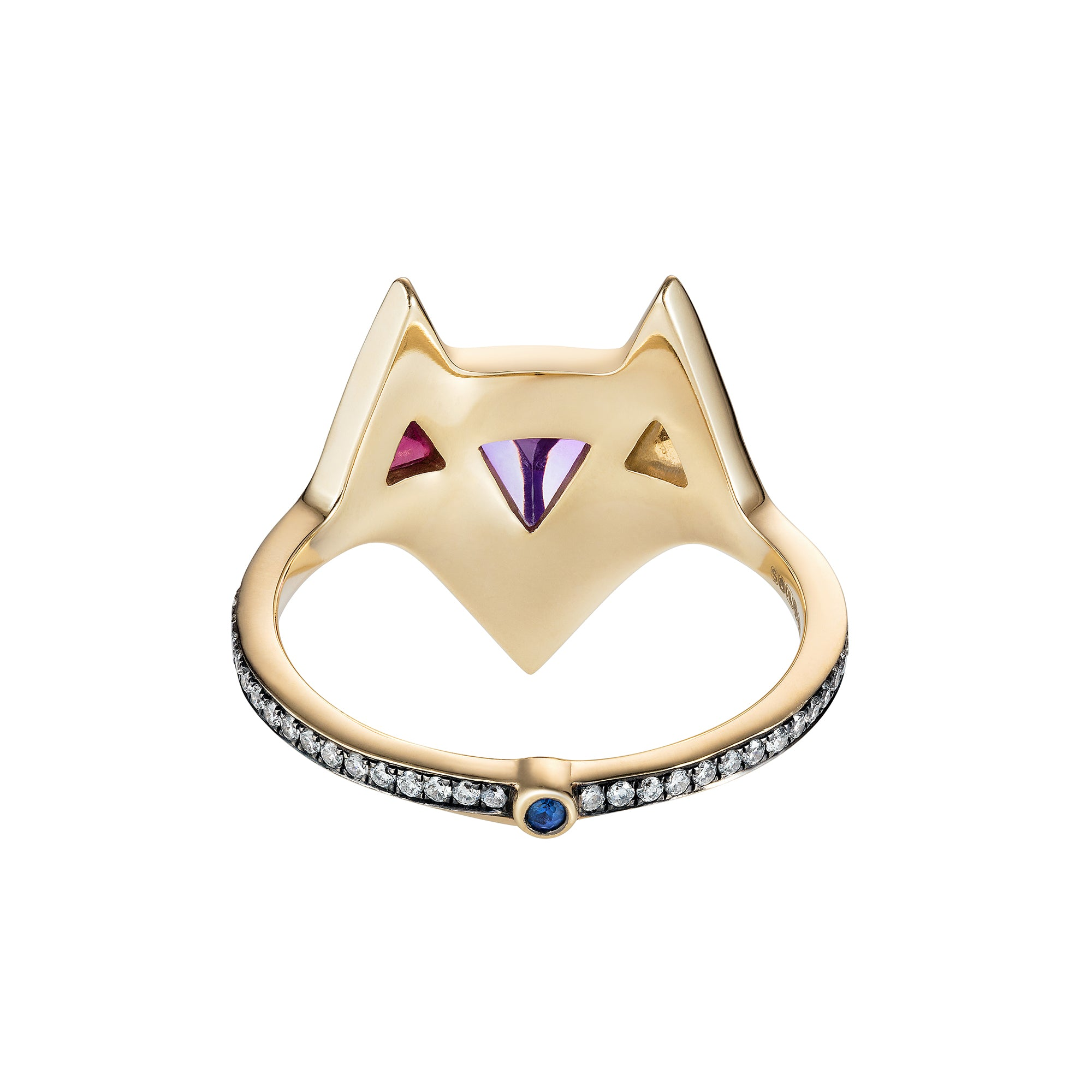 Multi Colored Hava Ring by Noor Fares for Broken English Jewelry