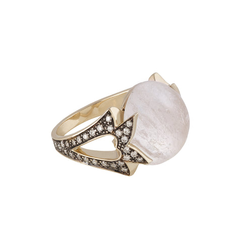 Amore Cabochon Ring by Noor Fares for Broken English Jewelry