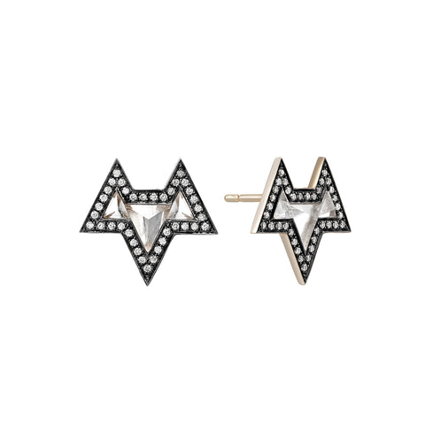Sri Yantra Ana Earrings by Noor Fares for Broken English Jewelry