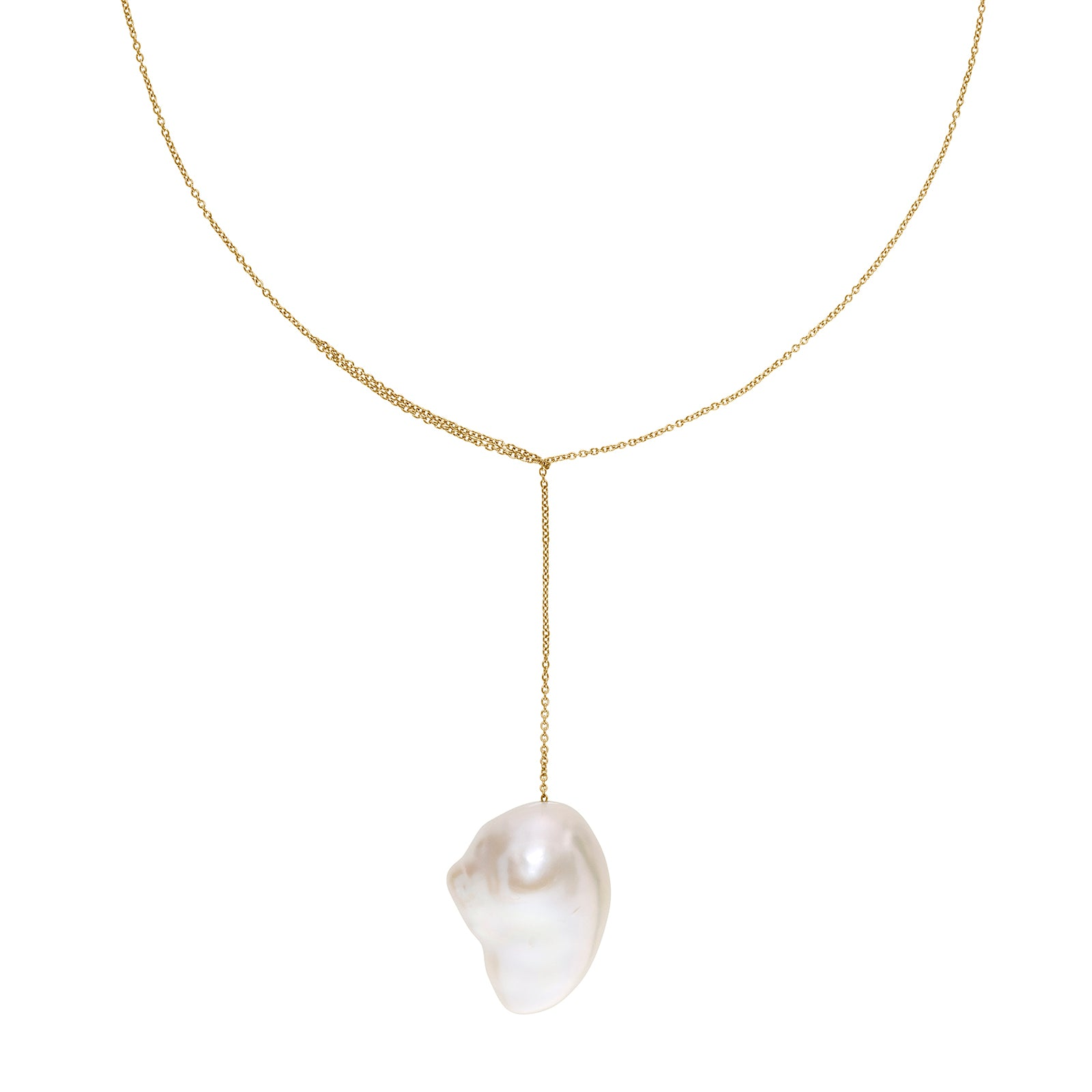 Sophie Bille Brahe Sirene Lariat Necklace - Necklaces - Broken English Jewelry