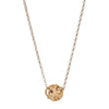 Small Diamond and Gold Ball Pendant Necklace - Nancy Newberg - Necklaces | Broken English Jewelry