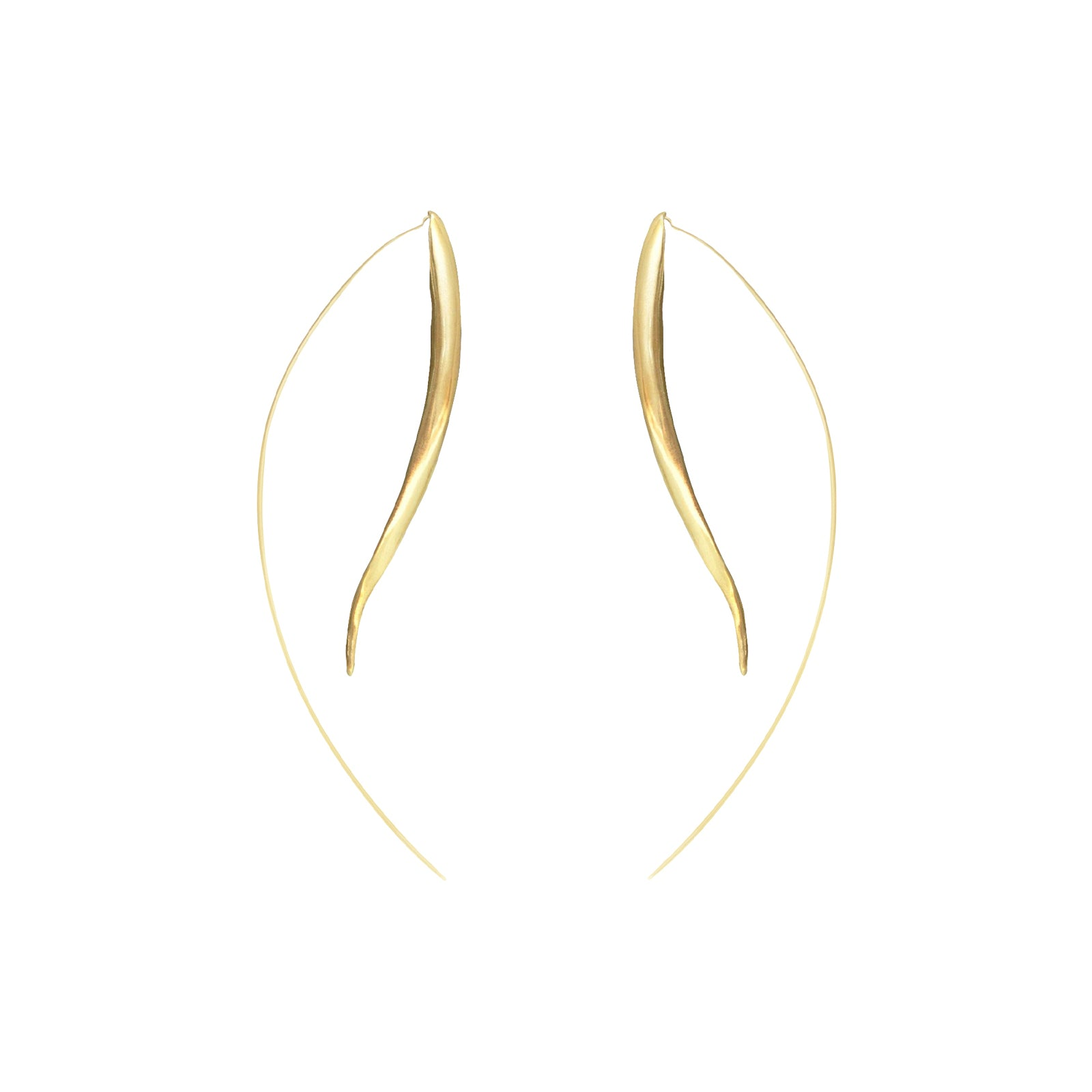 Ariana Boussard-Reifel Kalahari Earrings - Brass - Earrings - Broken English Jewelry
