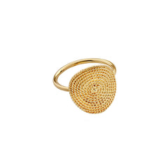 Filigree Disk Ring - Penelope - Ring | Broken English Jewelry