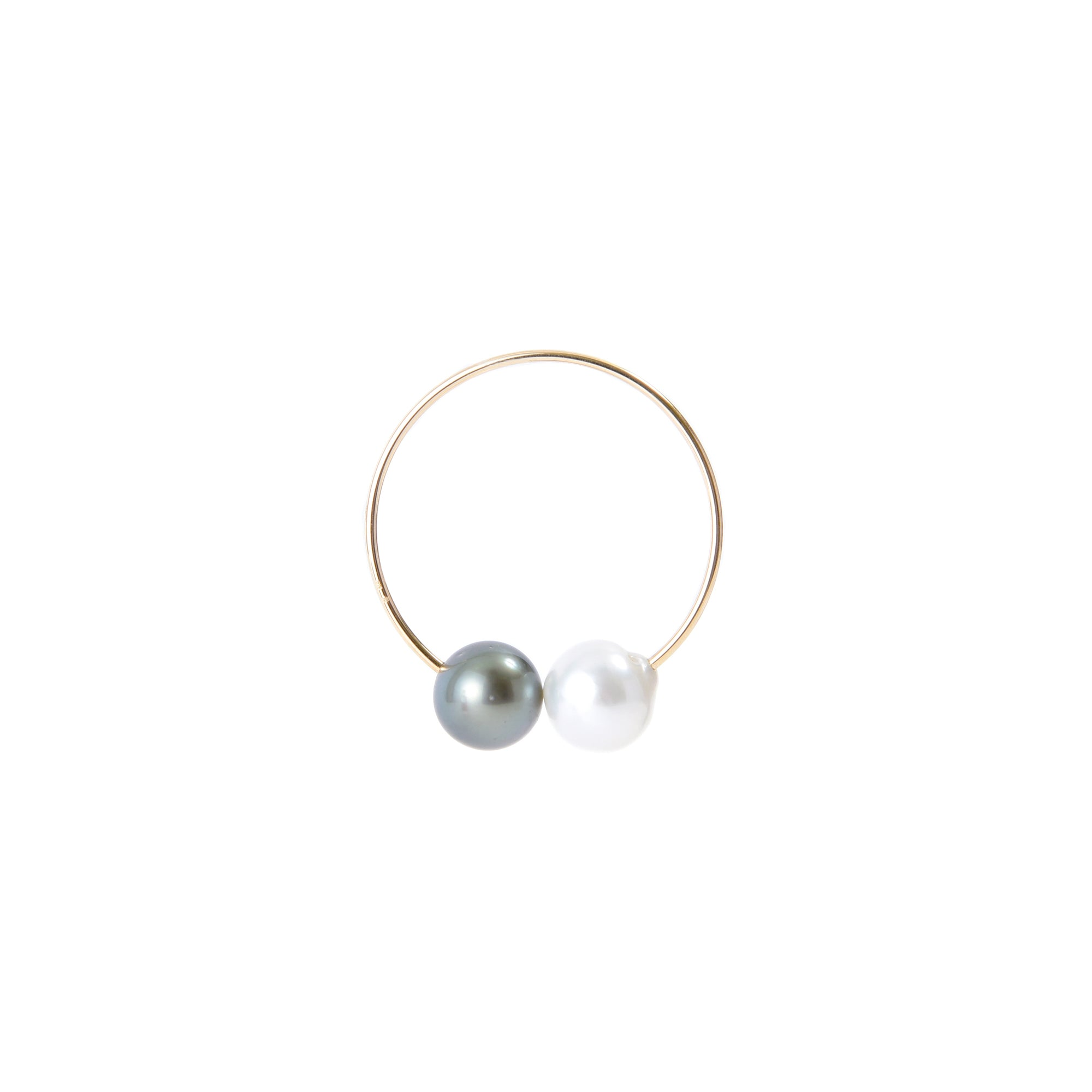Pearl Ear Cuff - Tahitian & South Sea Pearl