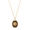 Colette Star Shield Necklace - Necklaces - Broken English Jewelry