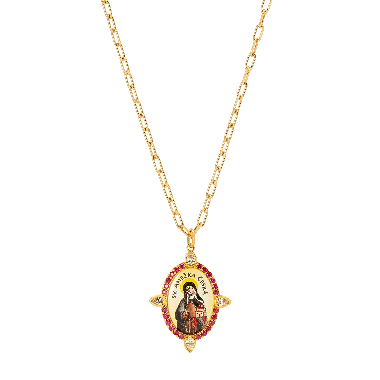 Colette ANESKA Pendant Necklace - Necklaces - Broken English Jewelry