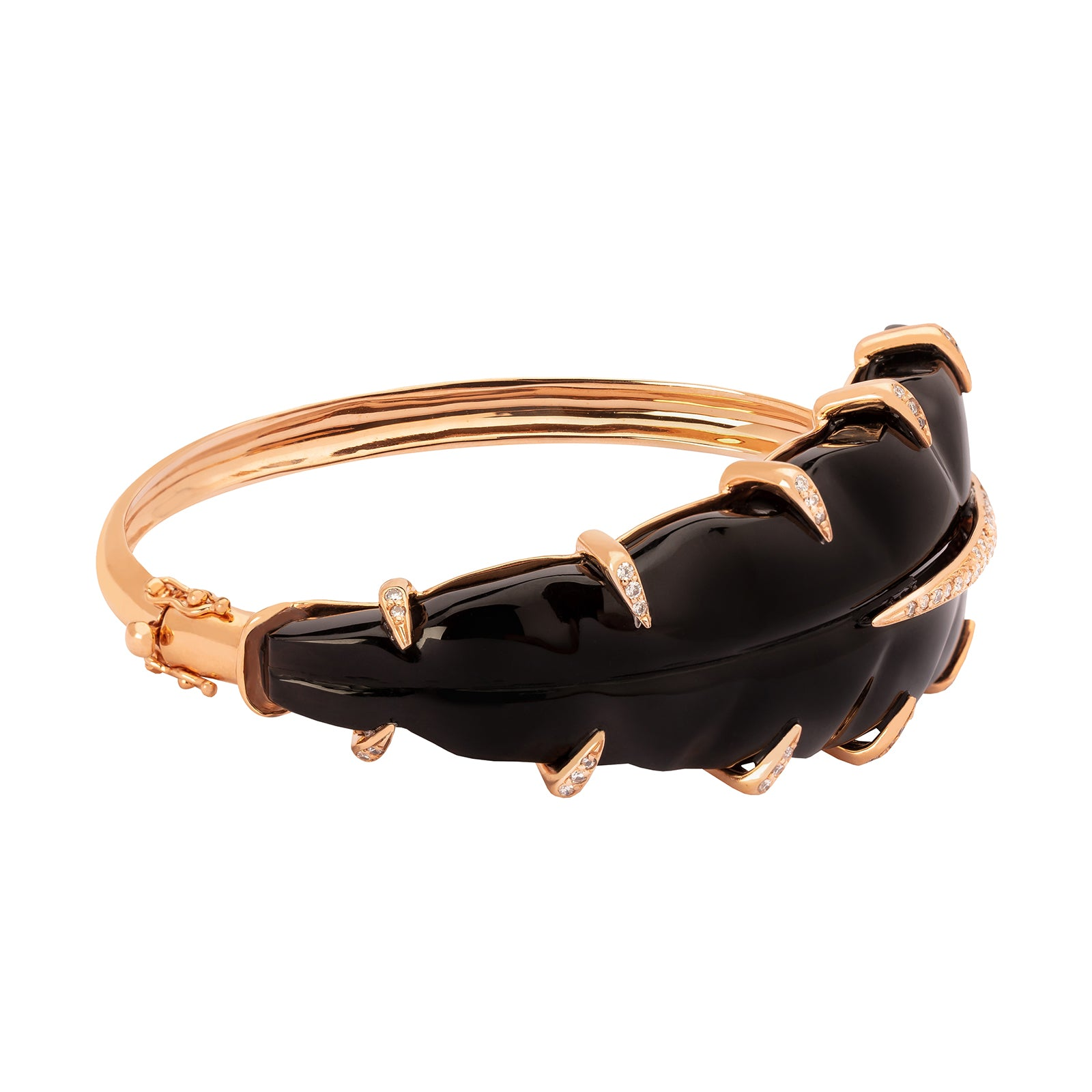 Carla Amorim Encanto Bracelet - Black Quartz - Bracelets - Broken English Jewelry
