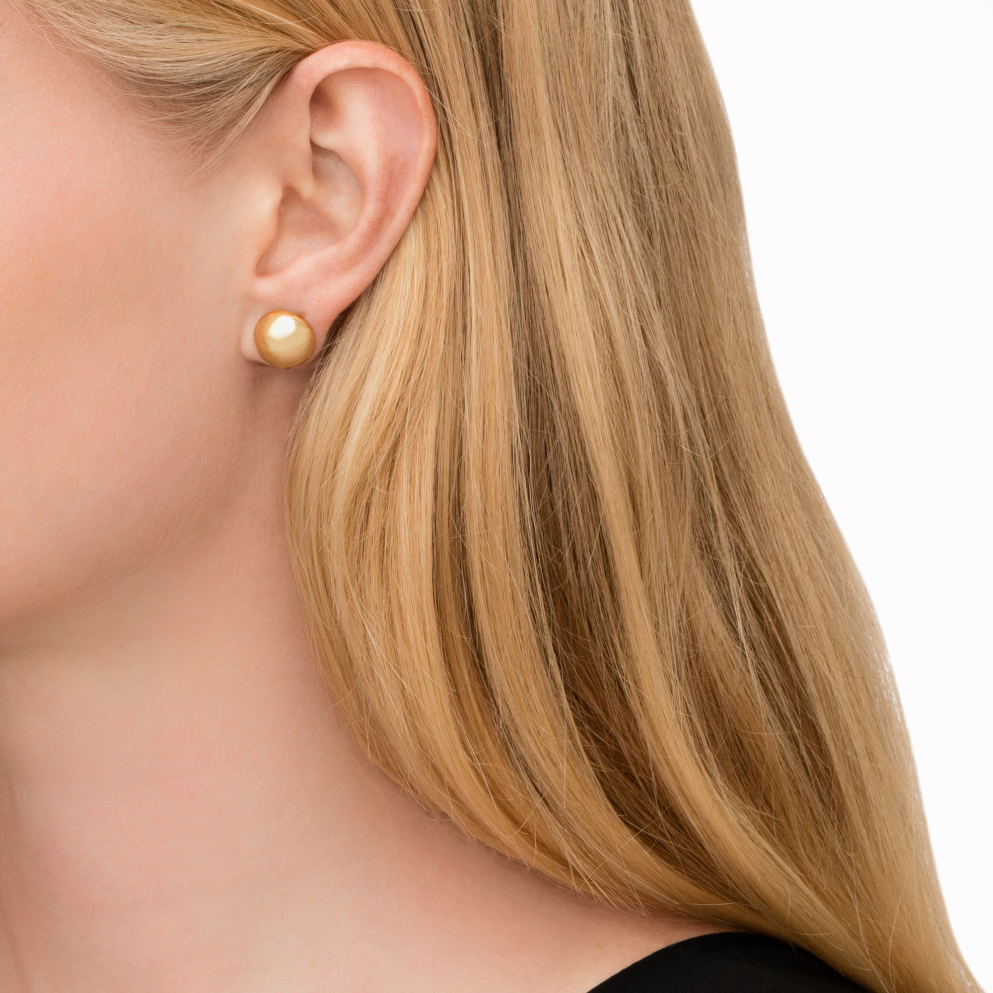 Large Psyche Studs - Cadar - Earrings | Broken English Jewelry