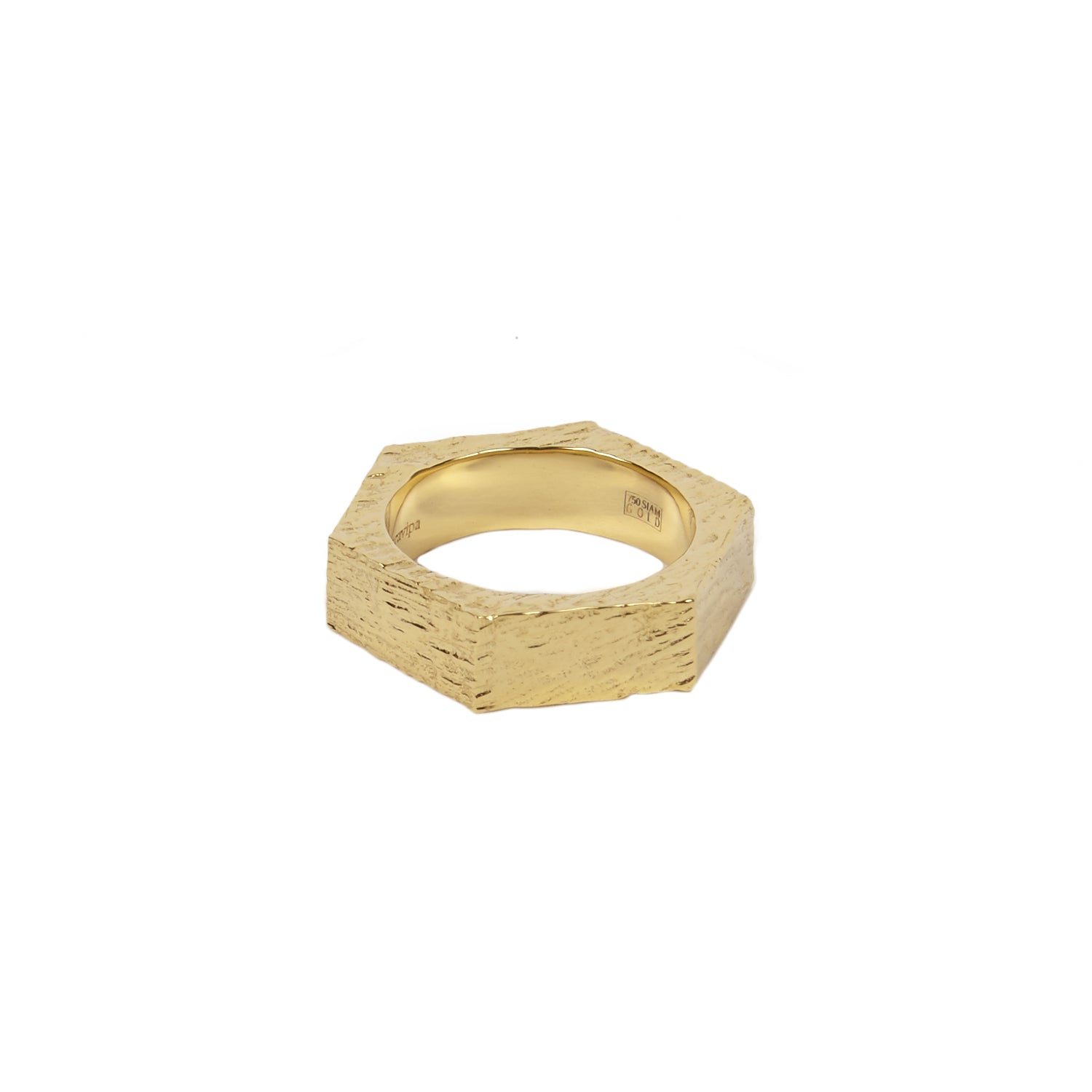 Hexagon Ring I by Patcharavipa for Broken English Jewelry