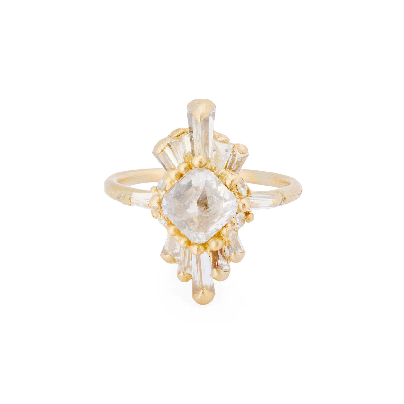 Phaedra Halo Ring by Polly Wales for Broken English Jewelry