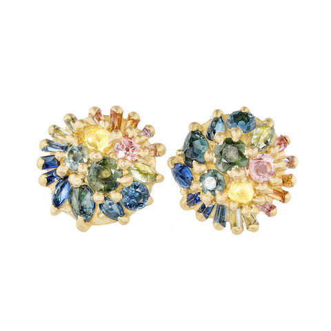 Gigi Dome Studs by Polly Wales for Broken English Jewelry